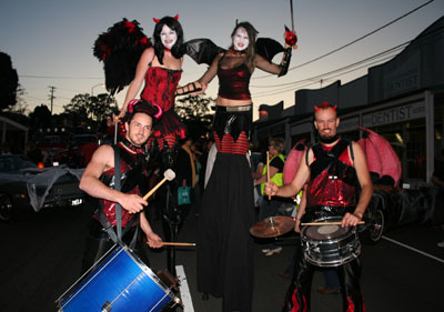 Manly Harbour Village Halloween Street Parade