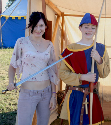 History Alive 2007 - Nadia takes up the sword