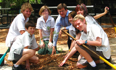 Arbor Day at Wynnum High