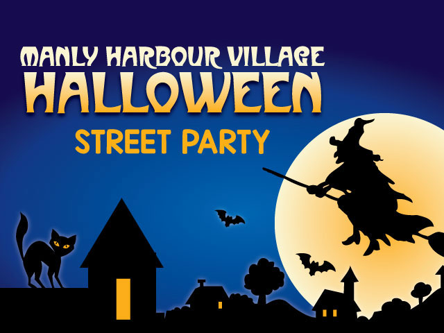 Manly Harbour Village Halloween Street Party